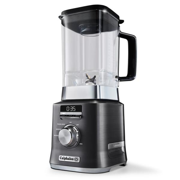 Calphalon 67 oz. 10-Speed Dark Stianless Steel Auto Speed Blender BLCLMB1