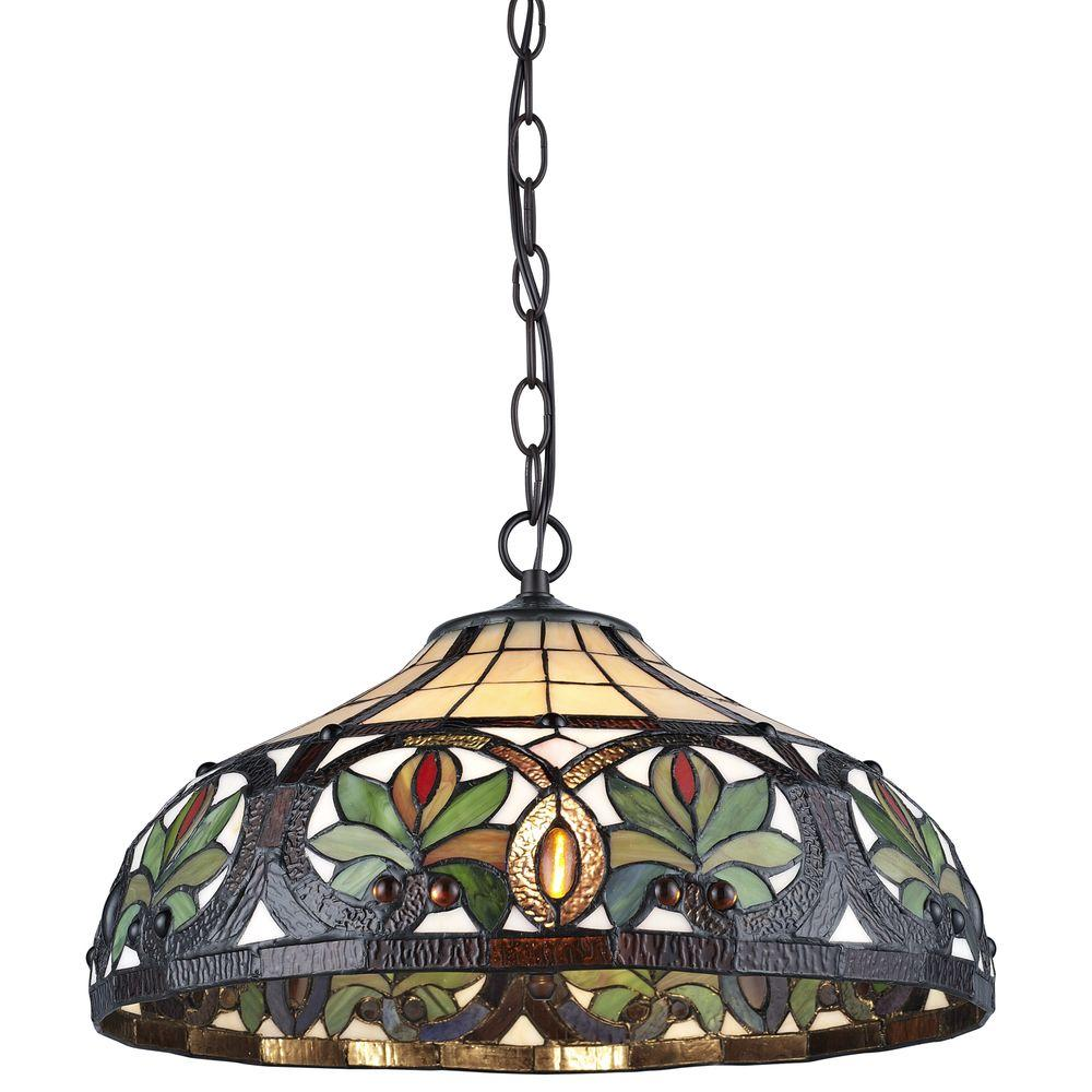 Serena ditalia tiffany 2 light sunrise bronze pendant hanging lamp serena ditalia tiffany 2 light sunrise bronze pendant hanging lamp tf7040han the home depot arubaitofo Gallery
