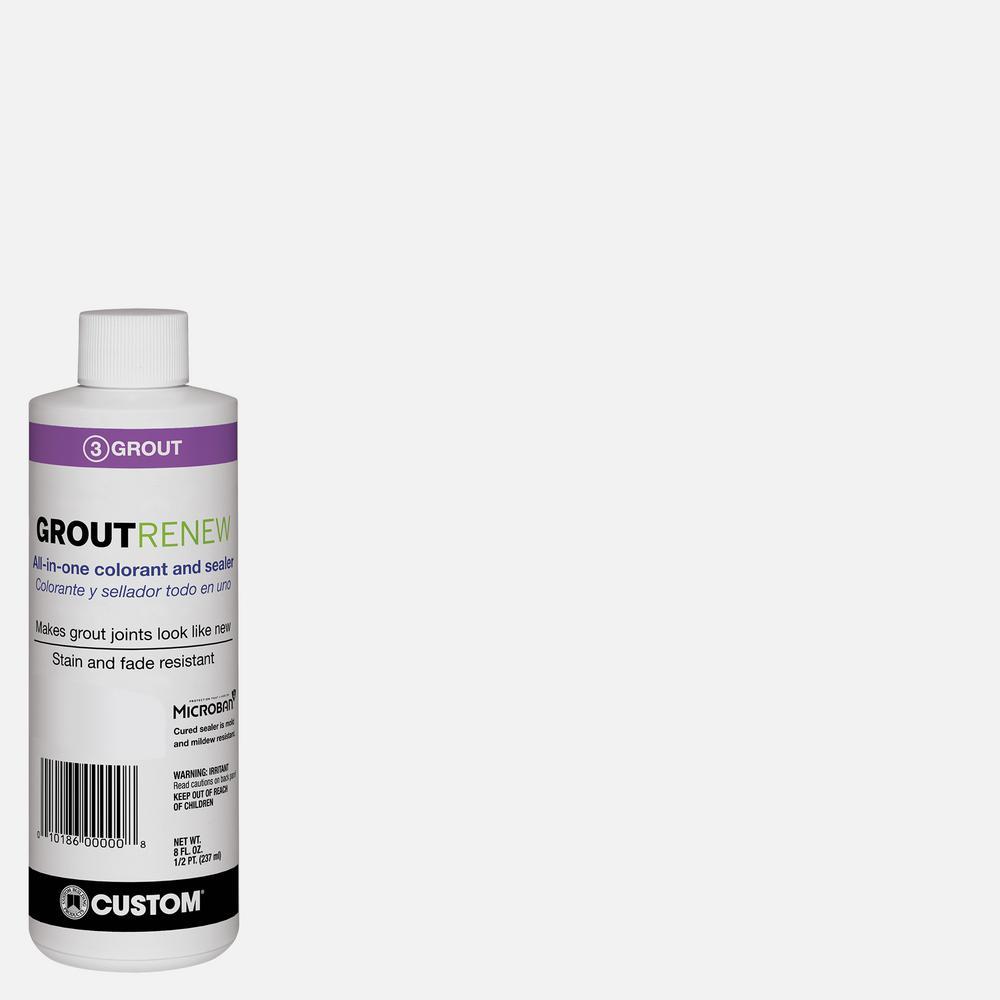 Polyblend #640 Arctic White 8 oz. Grout Renew Colorant