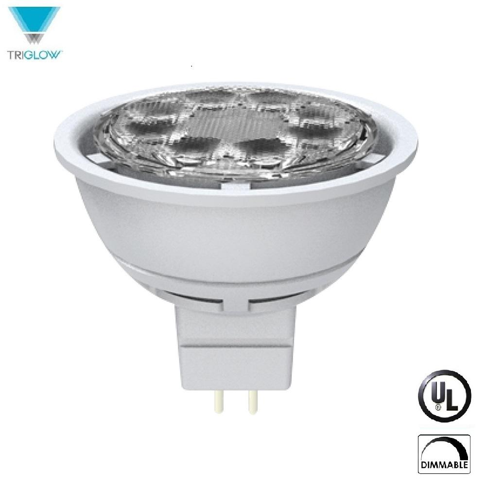 50-Watt Equivalent MR16 Dimmable Wide FLood Daylight LED Light Bulb