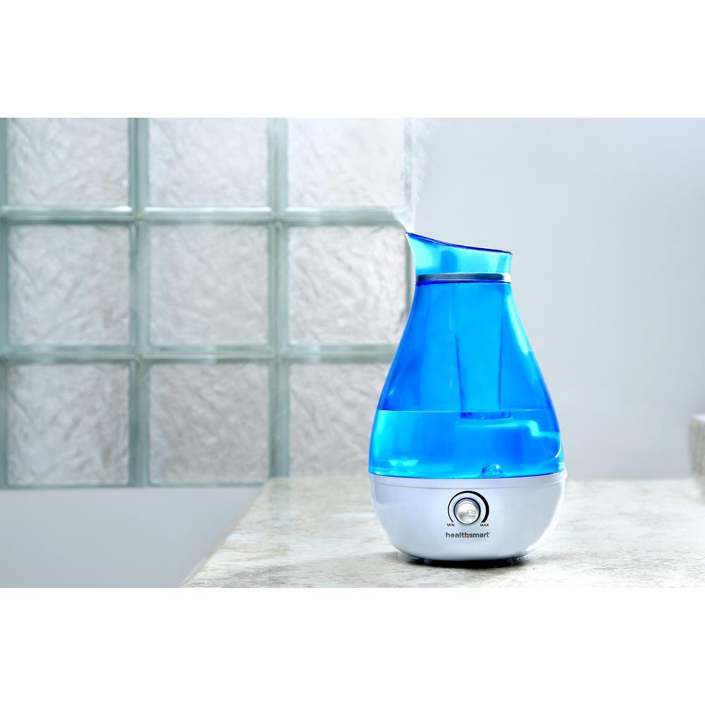 0.66 gal. XP Ultrasonic Cool Mist Tabletop Humidifier