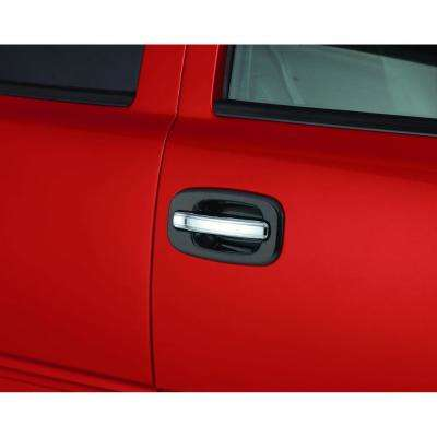 Chrome Door Lever Cover(TM) - 2 pc. - Handle Only