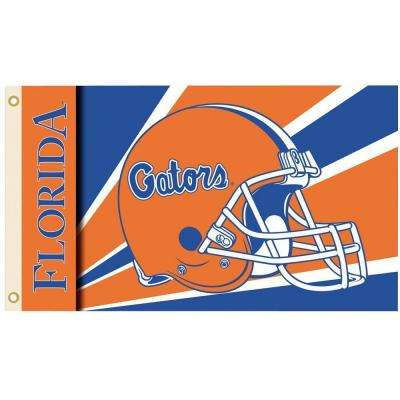 NCAA 3 ft. x 5 ft. Helmet Florida Flag