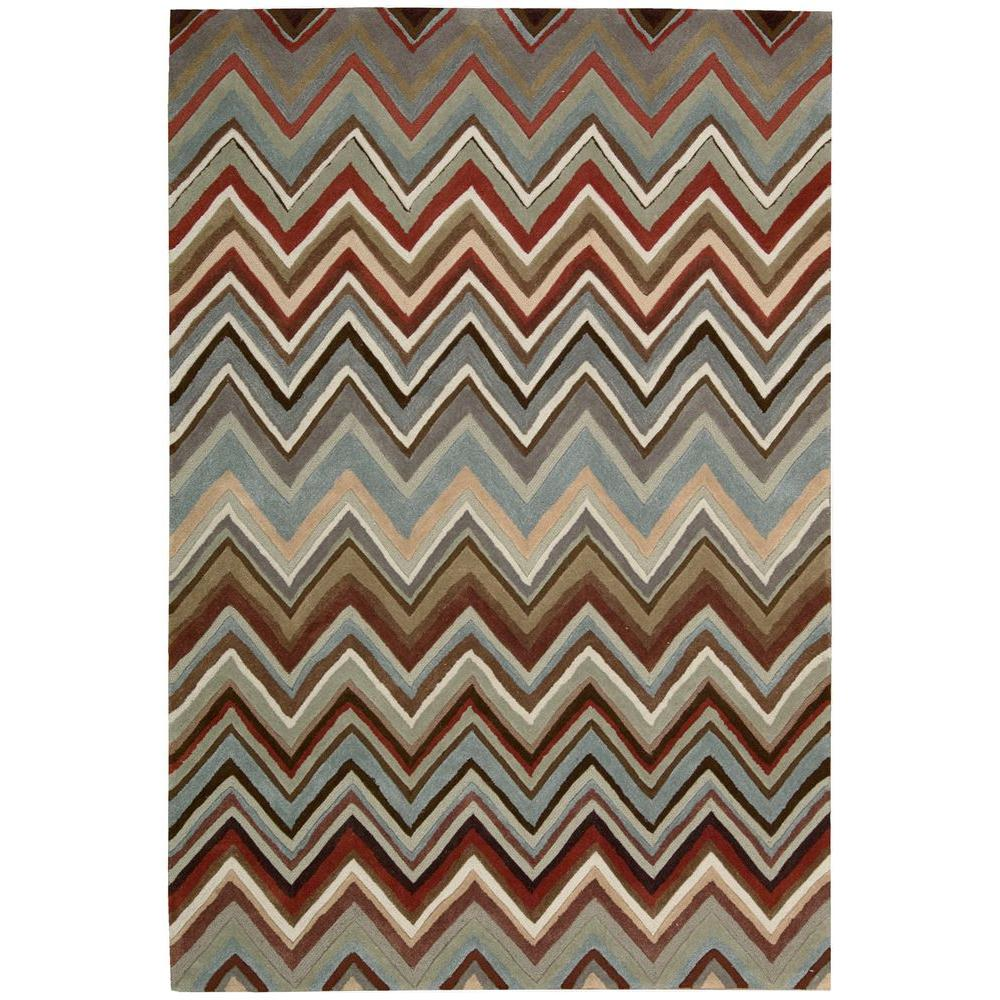 Contour Multi-Color 8 ft. x 10 ft. 6 in. Area Rug