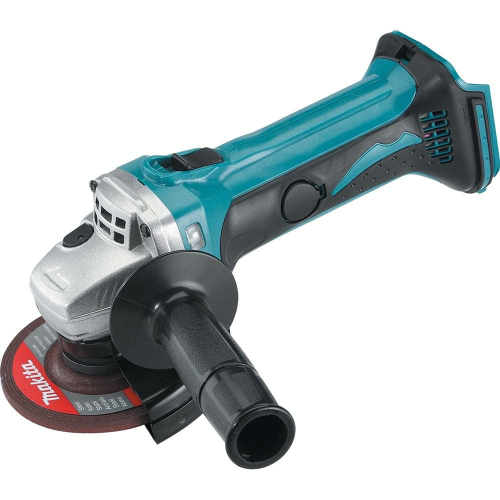 Makita 18-Volt LXT Lithium-Ion Brushless Cordless 4-1/2 in. Compact Cut-off/Angle Grinder (Tool-Only)