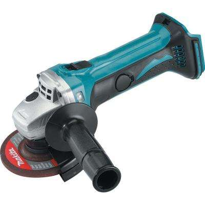 18-Volt LXT Lithium-Ion Brushless Cordless 4-1/2 in. Compact Cut-off/Angle Grinder (Tool-Only)