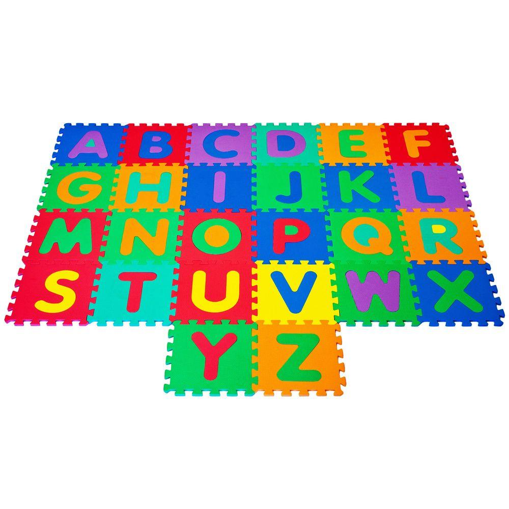 Foam Floor Alphabet Puzzles Mat For Kids