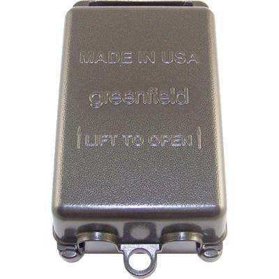 Weatherproof Electrical Box While-In-Use Cover - Vertical - Bronze