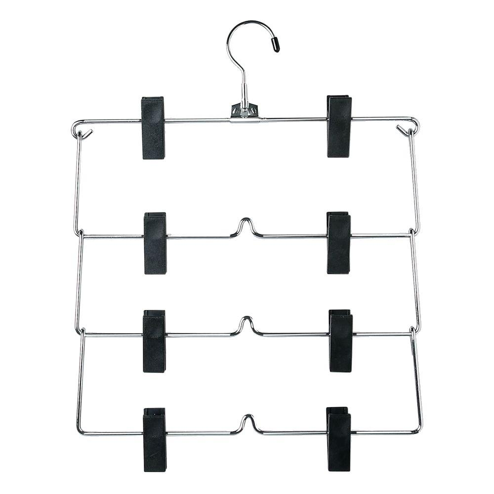 Four-Tier Fold Up Skirt Hanger (2-Pack)