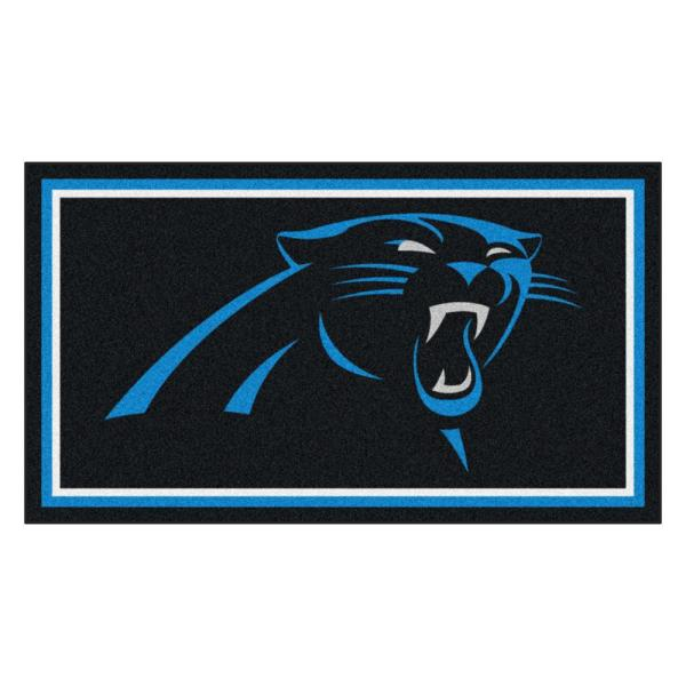 NFL - Carolina Panthers 3 ft. x 5 ft. Ultra Plush Area Rug
