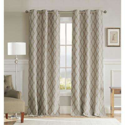 Kelvin Curtains Window Treatments The Home Depot