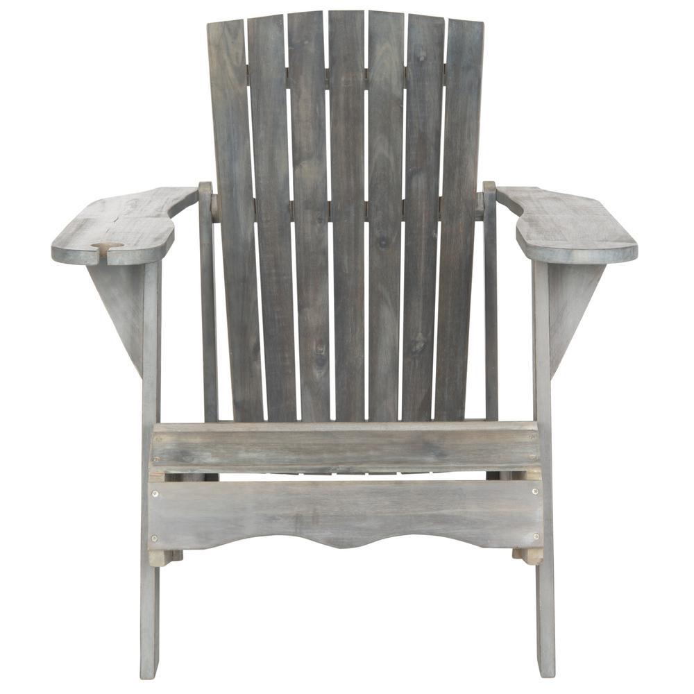 Vista Ash Grey Wood Adirondack Chair