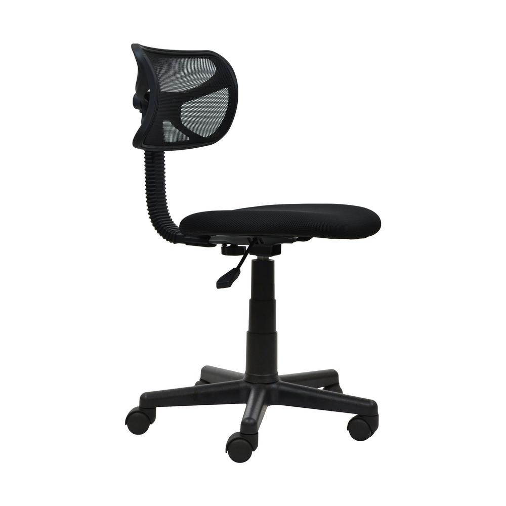 Black Student Mesh Task Office Chair