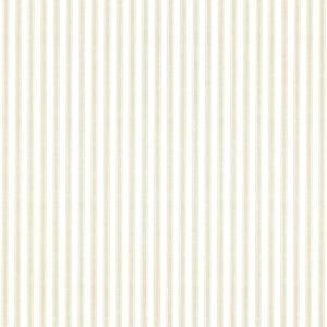 Longitude Khaki Pinstripes Paper Strippable Roll Wallpaper (Covers 56.4 sq. ft.)