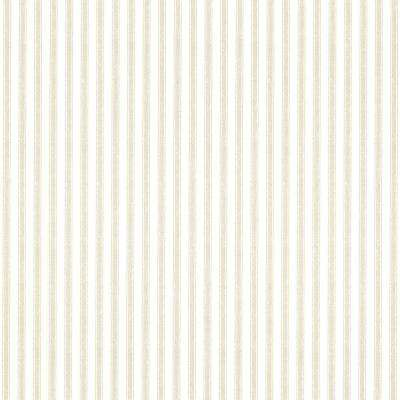 Longitude Khaki Pinstripes Wallpaper Sample