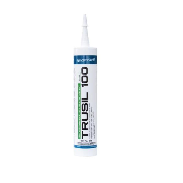 10.1 oz 100% Silicone Sealant in Clear