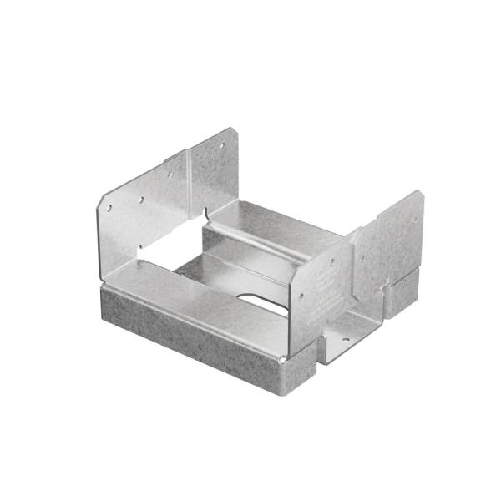 "DECK POST BASE ANCHOR Simpson MiTek Brand 6/"" x 6/"" NEW OPEN BOX Triple Zinc"