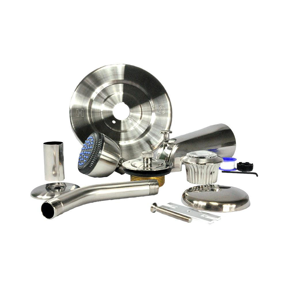DANCO Tub/Shower Trim Kit for MOEN in Brushed Nickel (Valve Not Included)