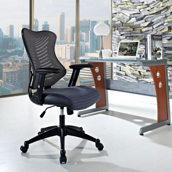 MODWAY Clutch Office Chair in Gray EEI-209-GRY