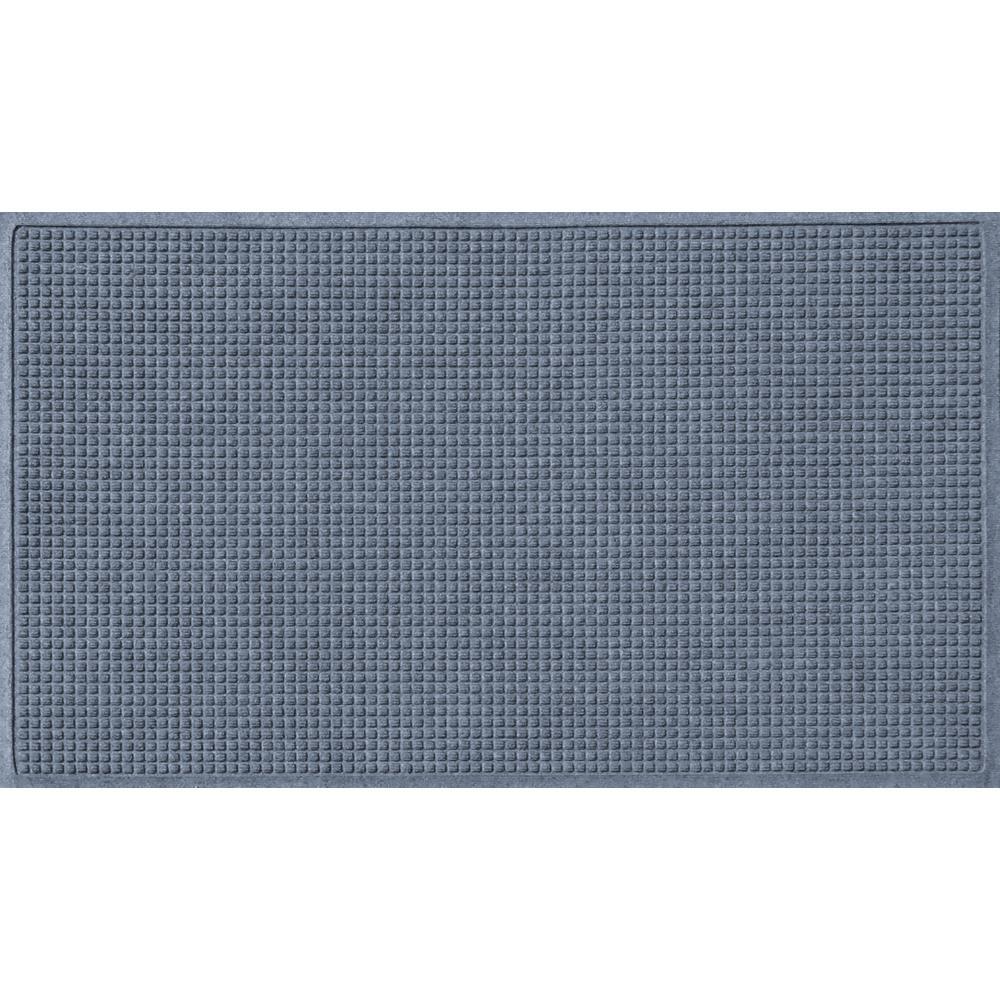 Bluestone 36 in. x 60 in. Squares Polypropylene Door Mat