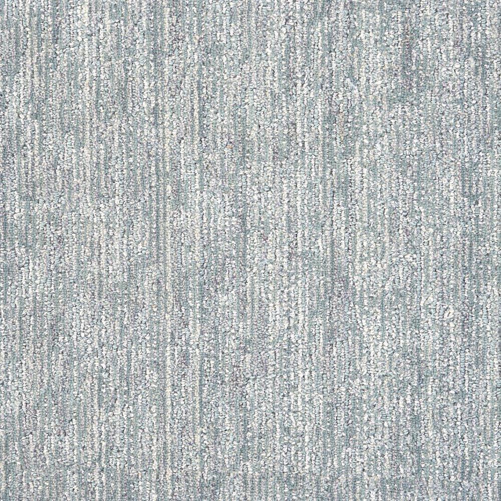 Borderline - Color Steel Blue Pattern 12 ft. Carpet