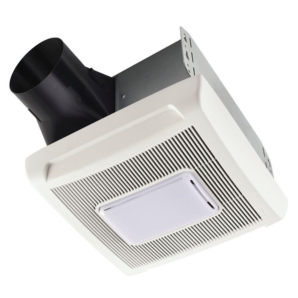 Nutone Invent Series 80 Cfm Ceiling Bathroom Exhaust Fan With Light An80l The Home Depot