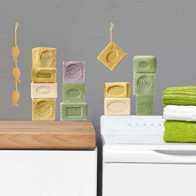 Multi-Color Soaps Wall Decals