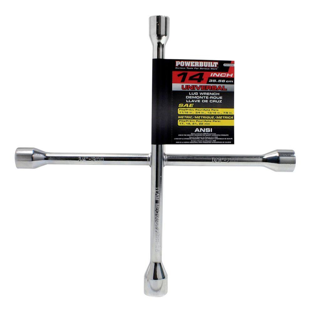 Powerbuilt 14 in. Universal Lug Wrench