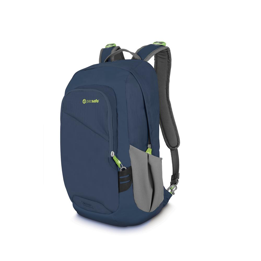 Pacsafe Venturesafe 18 In Navy Backpack With Laptop Compartment