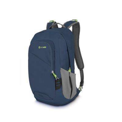 Venturesafe 18 in. Navy Backpack with Laptop Compartment