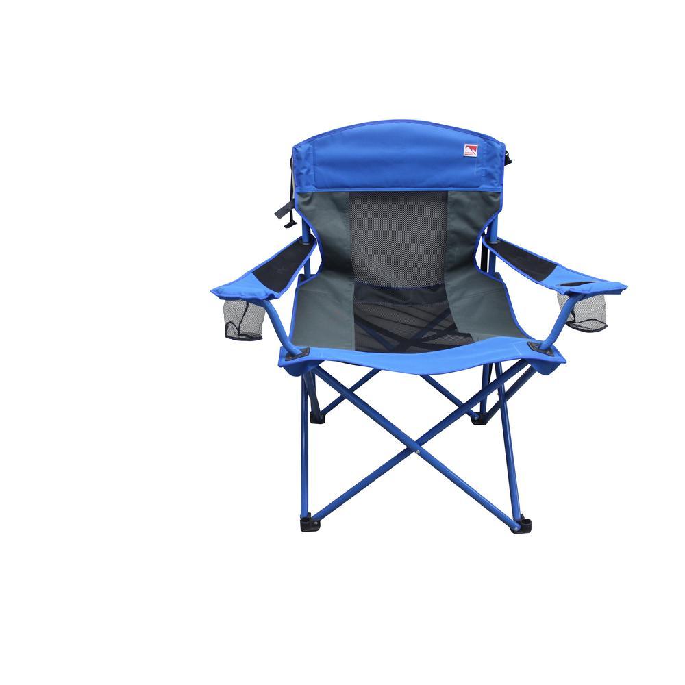 OUTDOOR SPECTATOR 4 lbs. XXL Big Boy Mesh Camping Chair-4 -  The Home Depot