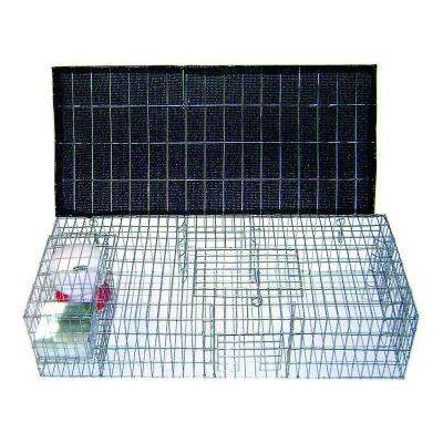 Pigeon Trap with Shade, Food & Water Containers (35 in. x 16 in. x 8 in.)