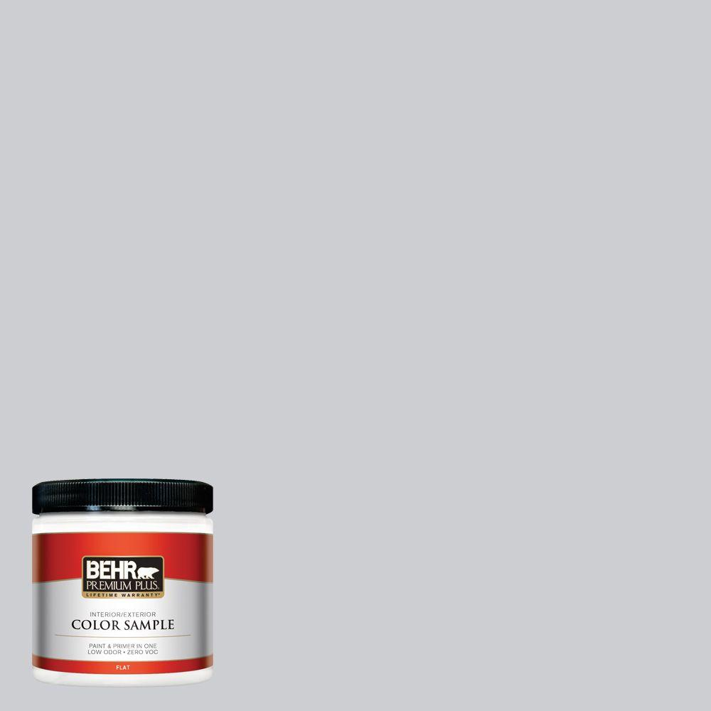 BEHR Premium Plus 8 oz. #760E-2 Manhattan Mist Interior/Exterior Paint Sample