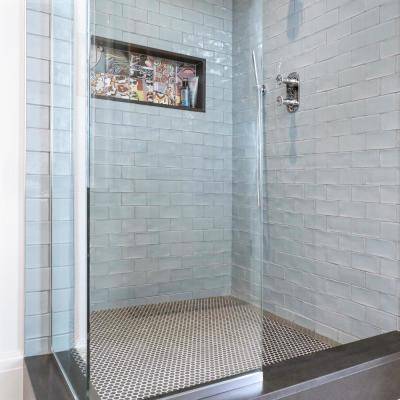 Chester Acqua 3 in. x 6 in. Ceramic Wall Subway Tile (1 sq. ft. / pack)