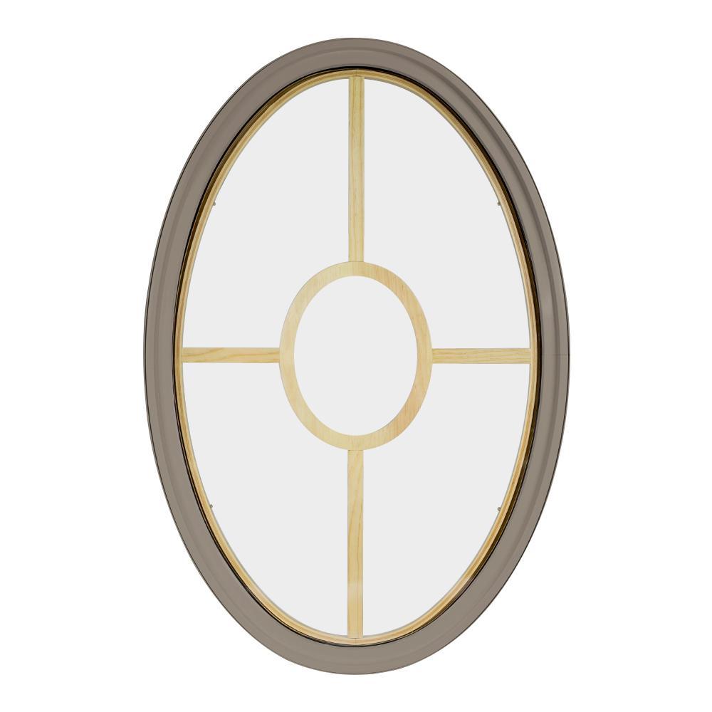 Frontline 24 in x 36 in oval sandstone 6 9 16 in jamb 5 for 16 x 24 window