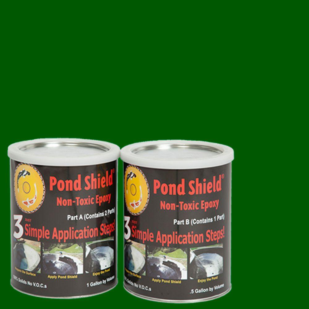 Pond Armor Pond Shield 1.5-gal. Forest Green Non Toxic Epoxy