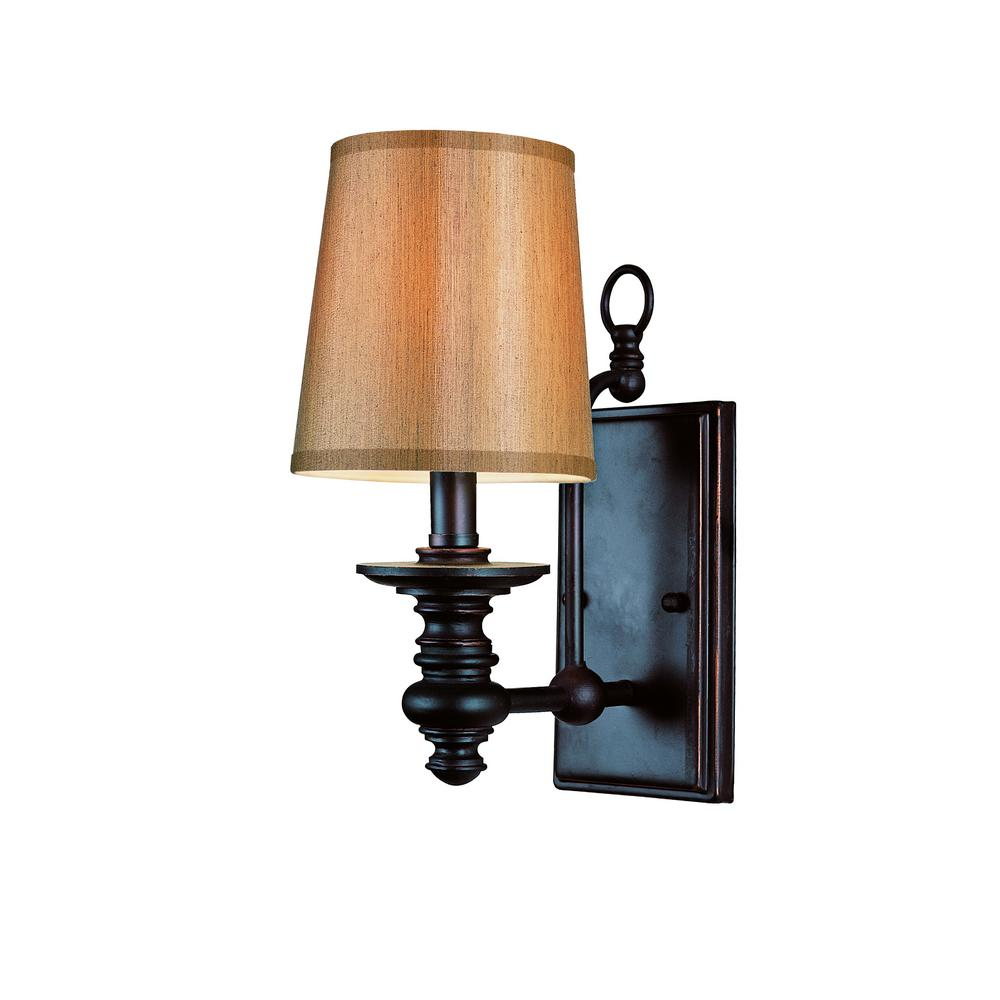 Henderson 1-Light Rubbed Oil Bronze Sconce