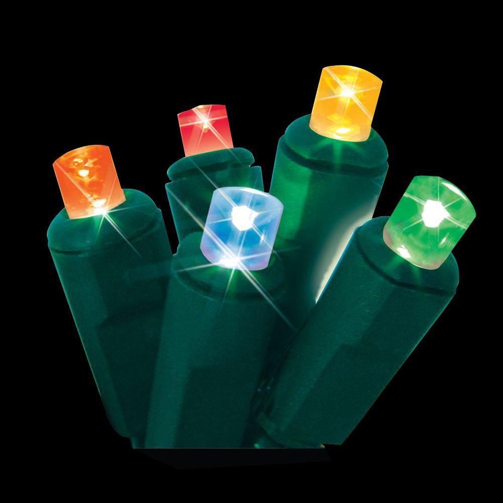 60-Light Multi-Colored Micro Mini Twinkling LED Light Set