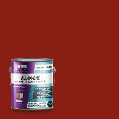 1 gal. Poppy Furniture, Cabinets, Countertops and More Multi-Surface All-in-One Interior/Exterior Refinishing Paint