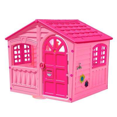 PalPlay House of Fun Playhouse in Pink