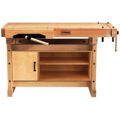 Elite 4.5 ft. Workbench with SM07 Cabinet Combo