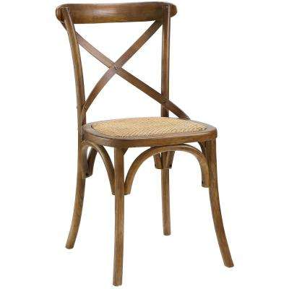 Gear Walnut Dining Side Chair