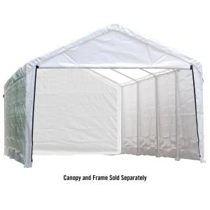 ShelterLogic Enclosure Kit for Super Max 12 ft. x 30 ft. White Canopy (Canopy and Frame... by ShelterLogic