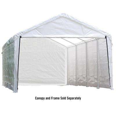 Enclosure Kit for Super Max 12 ft. x 30 ft. White Canopy (Canopy and Frame Not Included)