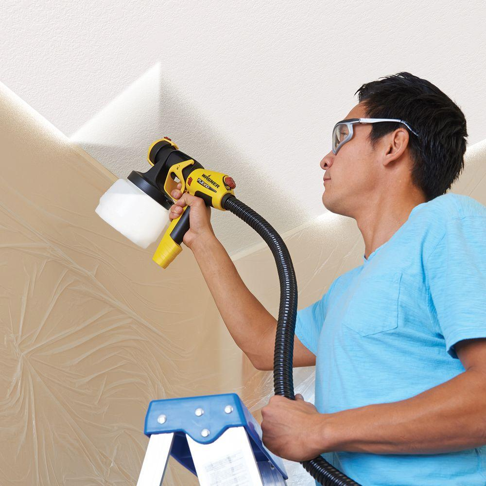 WAGNER Flexio 890 HVLP Paint Sprayer Station Tool W