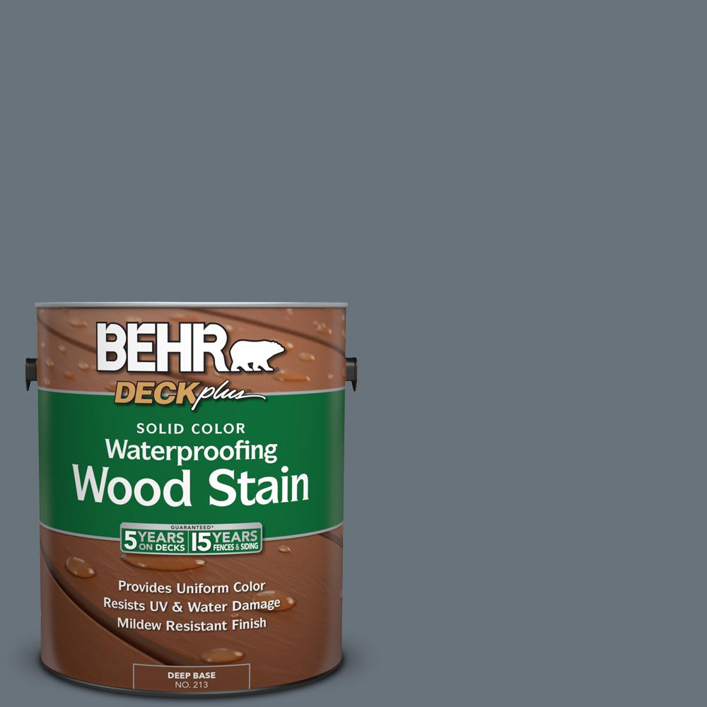 1 gal. #750F-5 Silver Hill Solid Color Waterproofing Wood Stain