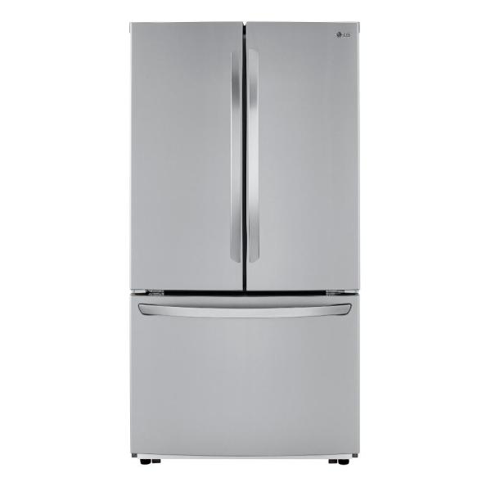 23 cu. ft. Counter Depth 3-Door French Door Refrigerator in PrintProof Stainless Steel