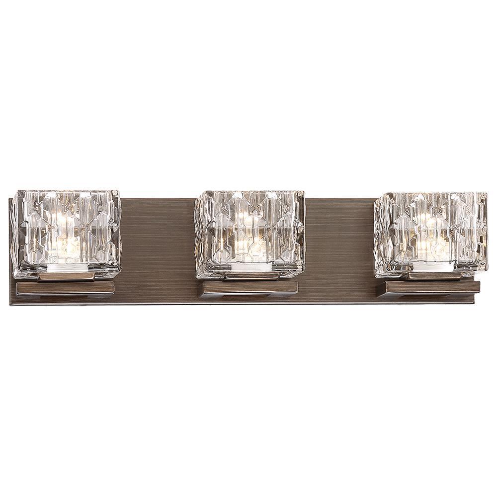 100-Watt Equivalent Metallic Bronze Integrated LED Bath Light