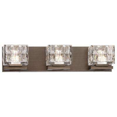 100-Watt Equivalent Metallic Bronze Integrated LED Bath Light