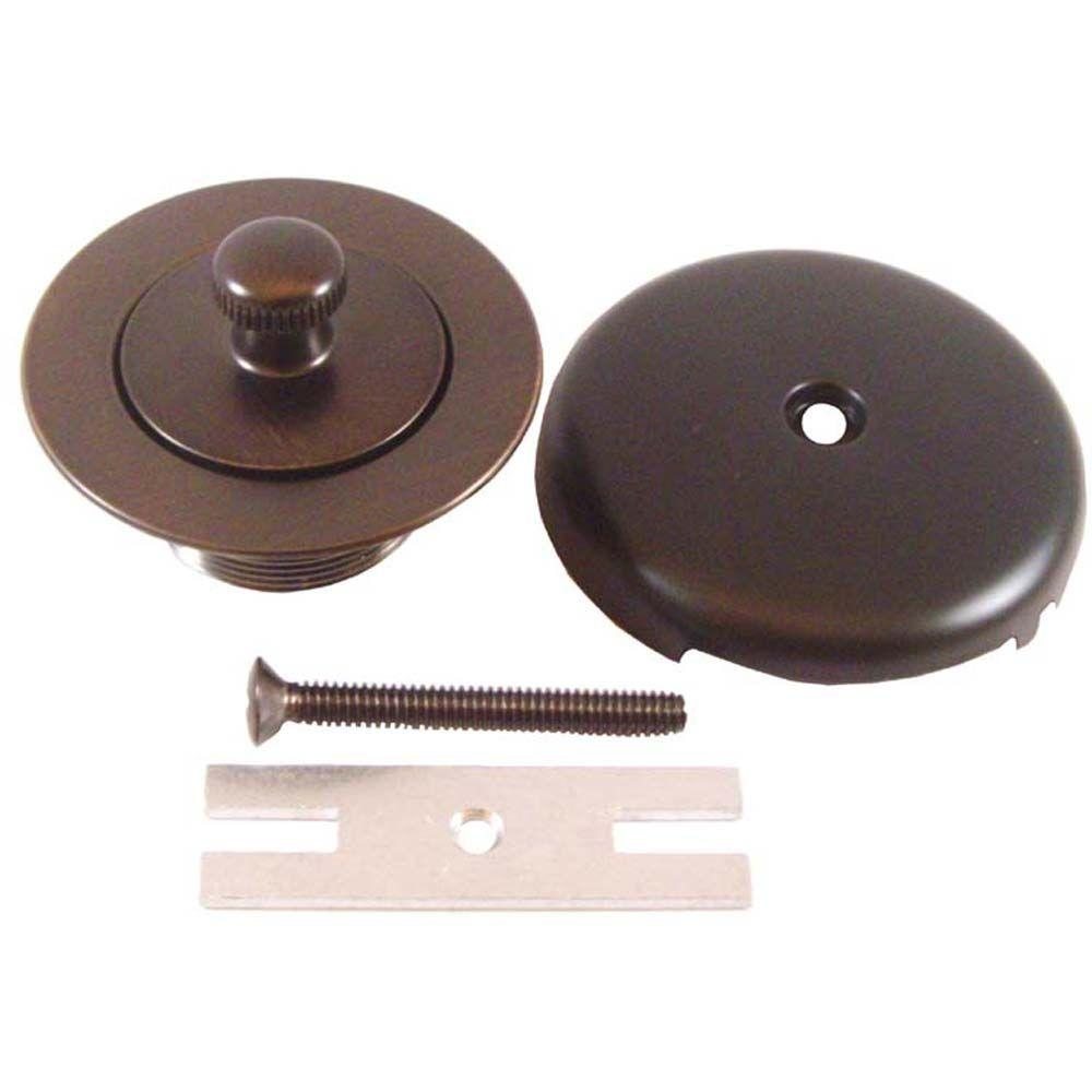 PartsmasterPro Lift and Turn Bath Trim Kit in Oil-Rubbed Bronze